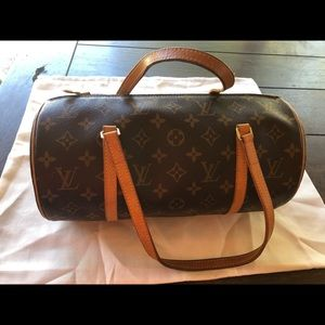 Louis Vuitton Papilon bag